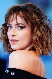 blunt haircut for curly hair bob hairstyle inspiration
