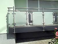 edelstahl balkon mit glas metallbau treiber hausner balkongeländer edelstahl stahl