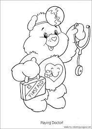 care bears coloring 063 coloring care bears bears