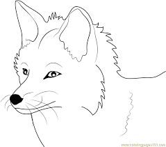 fox coloring pages animals printable coloring pages coloringzoom