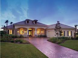 Florida Home Design Mediterranean Modern House Plan With 2885 Square Feet And 3