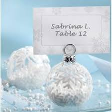 21 wonderful winter wedding gift and favors ideas place cards