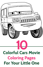 25 free printable colorful cars coloring pages