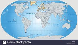 Outline World Map Map Europe Stock Photos U0026 Map Europe Stock Images Alamy