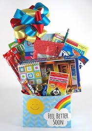 feel better soon gift basket better soon gift box