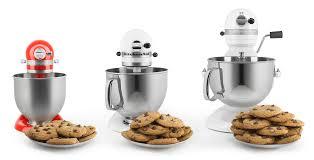 kitchenaid mixer comparison table kitchenaid mixer mini