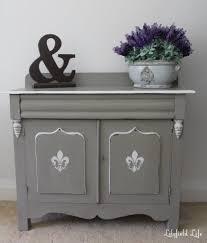 Annie Sloan Bedroom Furniture Lilyfield Life Rustic Little Fleur De Lis Cabinet Makeover