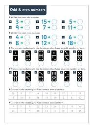 odd and even numbers maths worksheet free early years u0026 primary