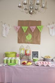 65 best baby shower pink and green images on pinterest green