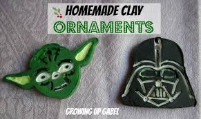 clay ornaments wars style