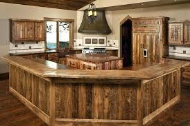Reclaimed Kitchen Cabinet Doors Reclaimed Wood Cabinet Doors Rustic Wood Kitchen Cabinets