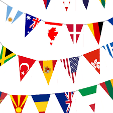 instant world flag banner by katespointofview on etsy