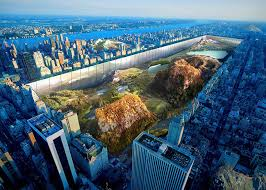 proposals to dig up central park and erect drone tower win