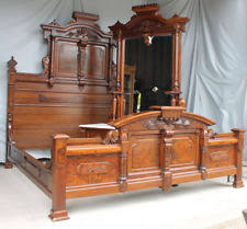 antique beds u0026 bedroom sets 1800 1899 ebay