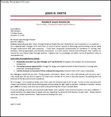 marketing cover letter template gallery of salesperson marketing cover letters resume genius