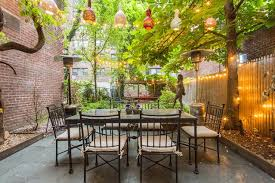 east 51st townhouse small garden ideas u0026 design houseandgarden
