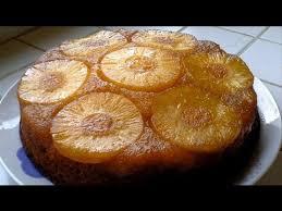 cuisine facile rapide le gâteau à l ananas caramélisé recette rapide et facile hd