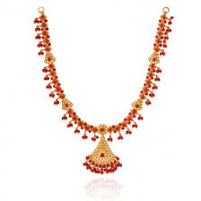necklace sets images Pearl coral necklace sets pearl coral jpg