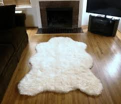 white faux fur rug cheap home design ideas