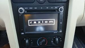 mustang shaker sound system 2005 2009 mustang raxiom oe style gps navigation w back up