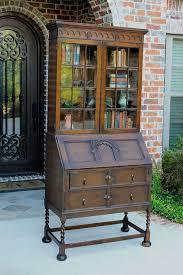 Secretary Desk Bookcase 78 Best Antique Bookcases Images On Pinterest Antique Furniture