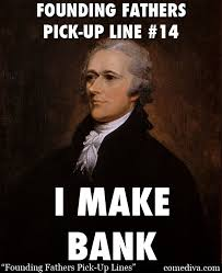 Pickup Lines Meme - founding fathers pick up lines comediva