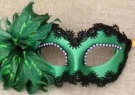 green mardi gras mask mardi gras masks men women s vivo masks