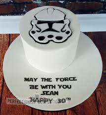 sean stormtrooper 30th birthday cake cake by niamh geraghty