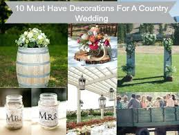 country wedding decoration ideas lovely country wedding reception decoration best barn weddings