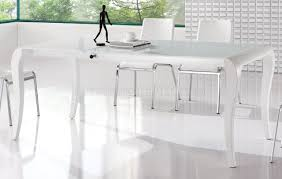 finish modern extendable dining table w optional chairs