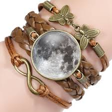 ningxiang arrival handmade moon bracelet for