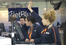 jetblue airways eases check in at fort lauderdale airport sun