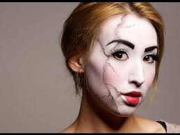 Broken Doll Halloween Costume 25 Cracked Doll Makeup Ideas Scary Doll