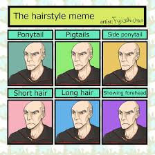 Short Hair Meme - hairstyle meme picardo by rottendeadpan on deviantart