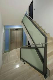Stair Banister Glass Glass Stair Railing Cost India Opaque Glass Stair Railing Glass