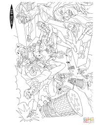 doctor octopus coloring pages funycoloring