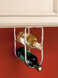 How To Make A Wine Rack In A Kitchen Cabinet Amazon Com Rev A Shelf 3250cr Chrome Under Cabinet Double