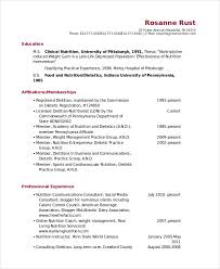 Sample Consulting Resume by Nutritionist Resume Template 7 Free Word Pdf Documents