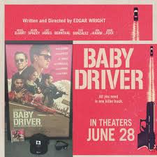 Hearst Sweepstakes Baby Driver Contest Enter For A Chance To Win Signed Poster