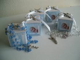 baptism favor boxes 10 baptism rosary favor boxes personalized favors box and