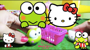 kitty sanrio moving keroppi feat peppa pig u0027s