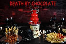 death by chocolate girls u0027 night in mama plus one