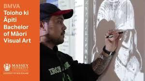 visual communication design massey bachelor of maori visual arts at massey massey university youtube