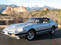 nissan datsun 1983 datsun 280zx turbo one owner very low mileage beautiful collector
