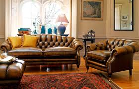 vintage leather chesterfield sofa sofas center wingback leather chair andeld couch for living room
