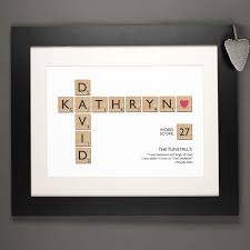 wedding gift hers uk i need a 1st wedding anniversary gift inspire me with something