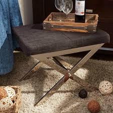 Metal Vanity Stool Home Decorators Collection Ella Natural Vanity Stool 1199200810