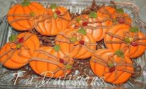 thanksgiving fall ta da icious cookies