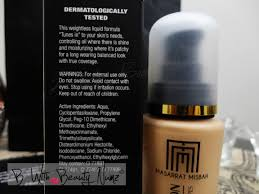 masarrat misbah makeup mm makeup u2013 silk foundation review