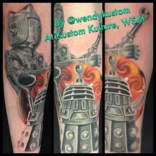 15 fantastic doctor who tattoos u2022 perfect tattoo artists
